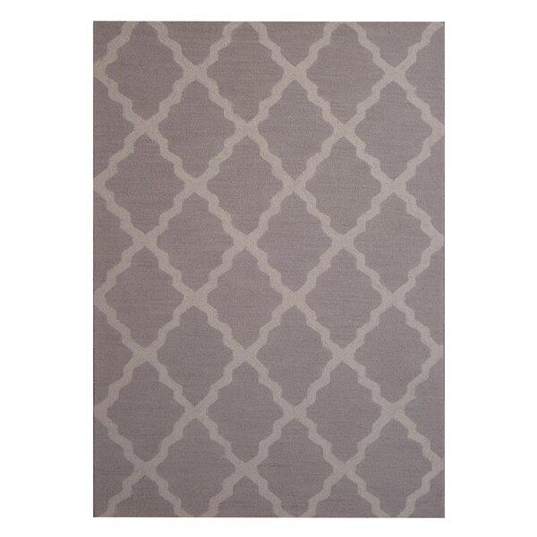Hand-Tufted Beige/Gray Indoor Area Rug by Herat Oriental