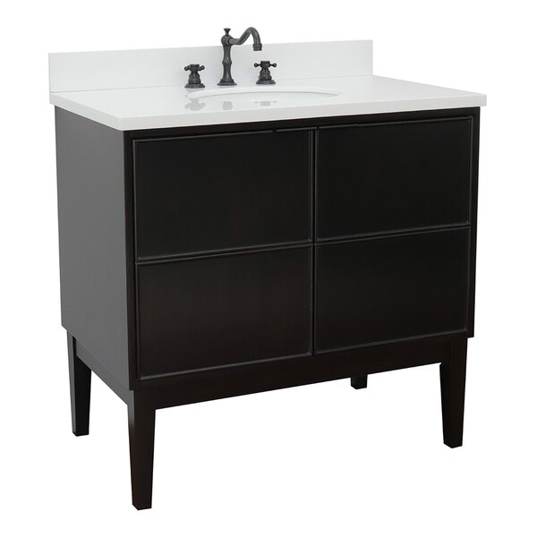 Encina 37 Single Bathroom Vanity Set by Gracie Oaks