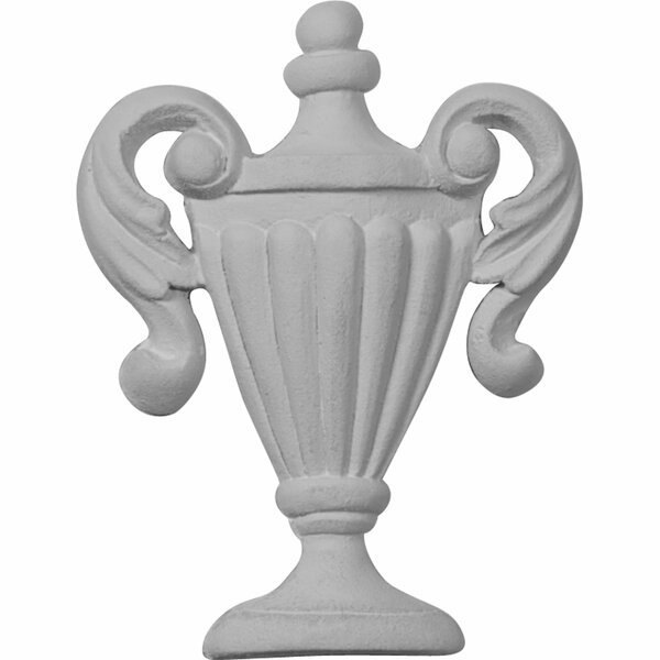 Federal Urn 3 1/4H x 2 1/2W x 3/8D Onlay by Ekena Millwork