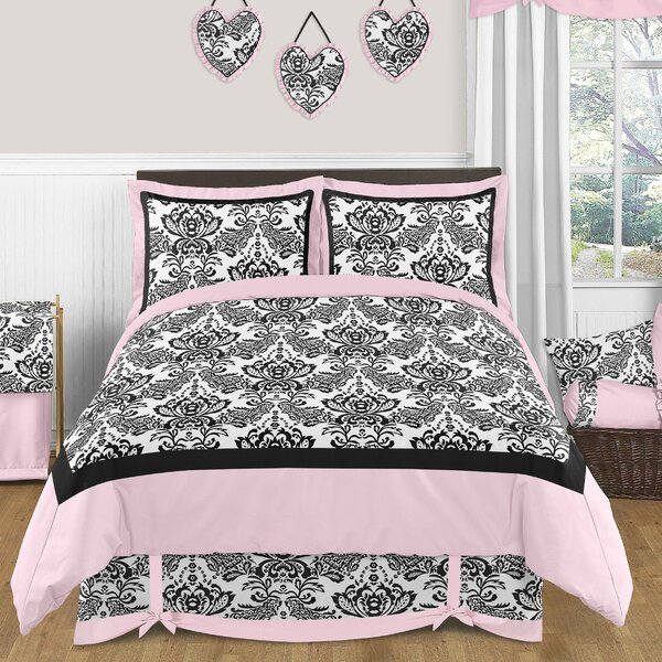 Sophia 4 Piece Twin Comforter Set by Sweet Jojo Designs