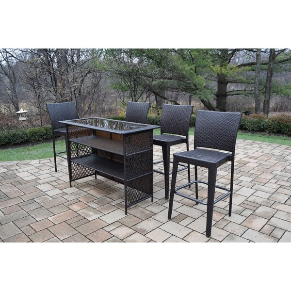 Parishville 5 Piece Bar Set by Darby Home Co