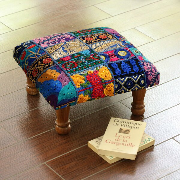 Salters Patch Ottoman by Bloomsbury Market