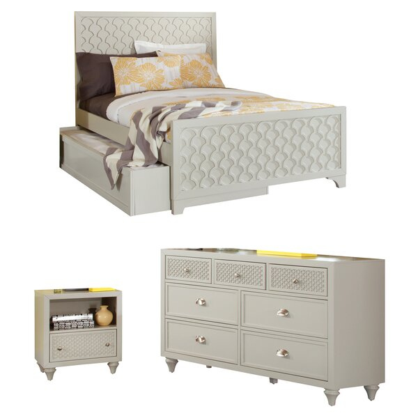 Amanda Panel Configurable Bedroom Set by My Home Furnishings