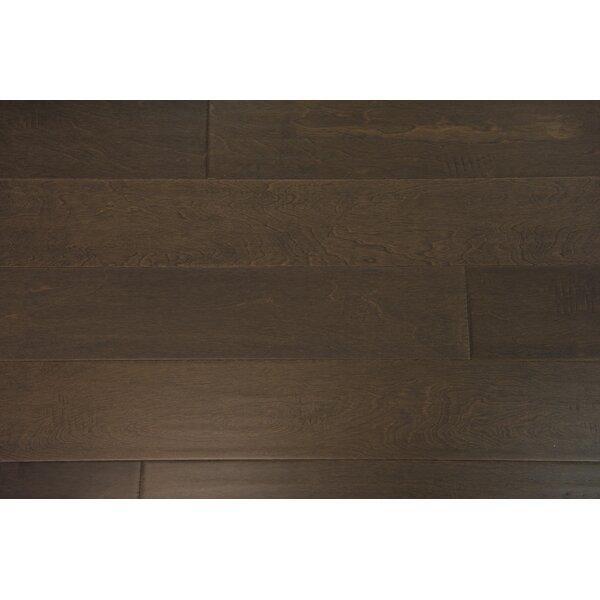 Helsinki 5 Engineered Birch Hardwood Flooring in Pewter by Branton Flooring Collection