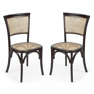 Dining Cane Side Chair Set Of 2