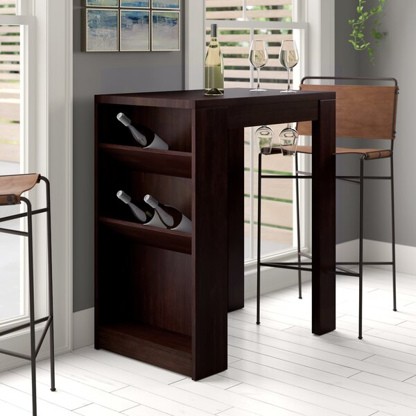 Eliza Bar with Wine Storage by Zipcode Design Zipcode Design