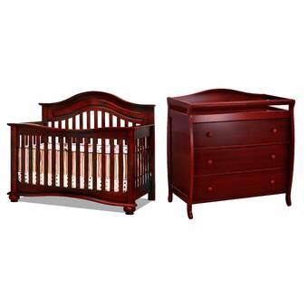 Three Posts Baby & Kids Essex Convertible Standard 2- Piece