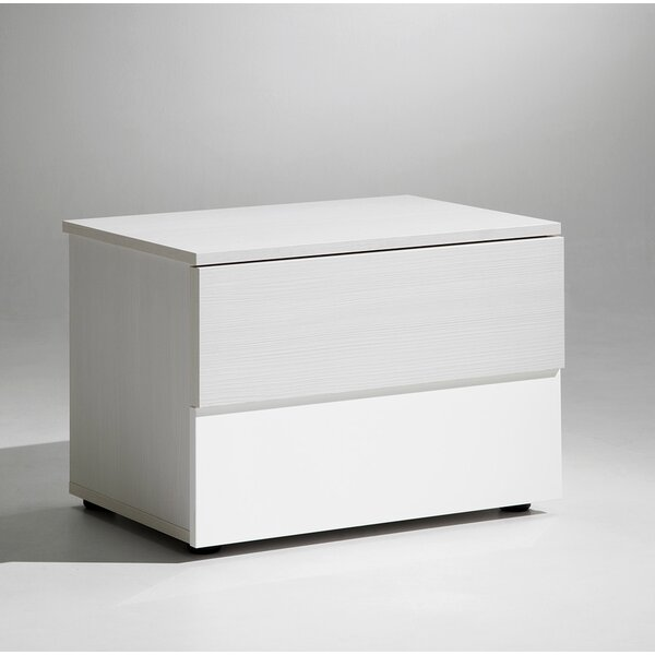 Sharon 2 Drawer Nightstand by YumanMod