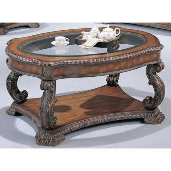 Jobe Serpentine Coffee Table by Astoria Grand