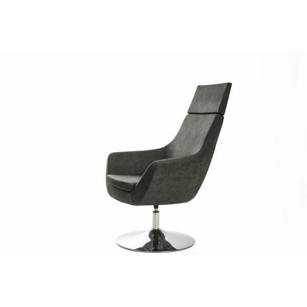 Crafa Swivel Lounge Chair by Orren Ellis