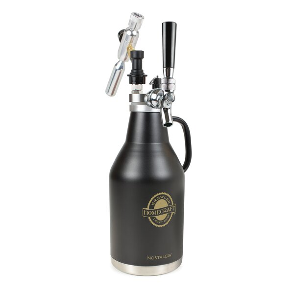 Amulya Homecraft Beer 64 Oz. Growler by 17 Stories