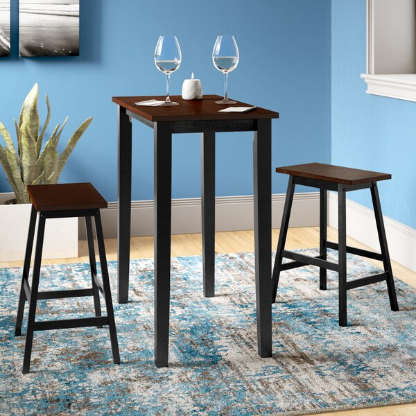 Everett 3 Piece Dining Set by Zipcode Design