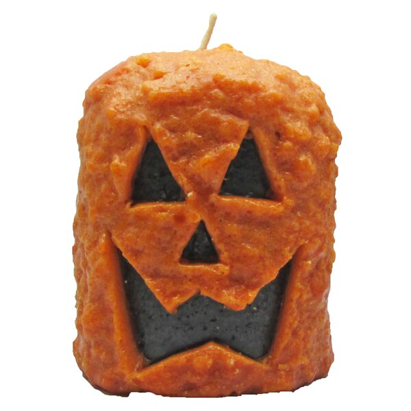 Jack O Lantern Scented Novelty Candle by Star Hollow Candle Company