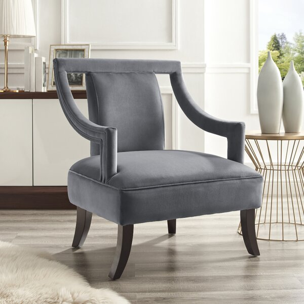 Keels Slipper Chair by Everly Quinn