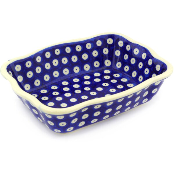 Rectangular Non-Stick Polish Pottery Baker by Polmedia