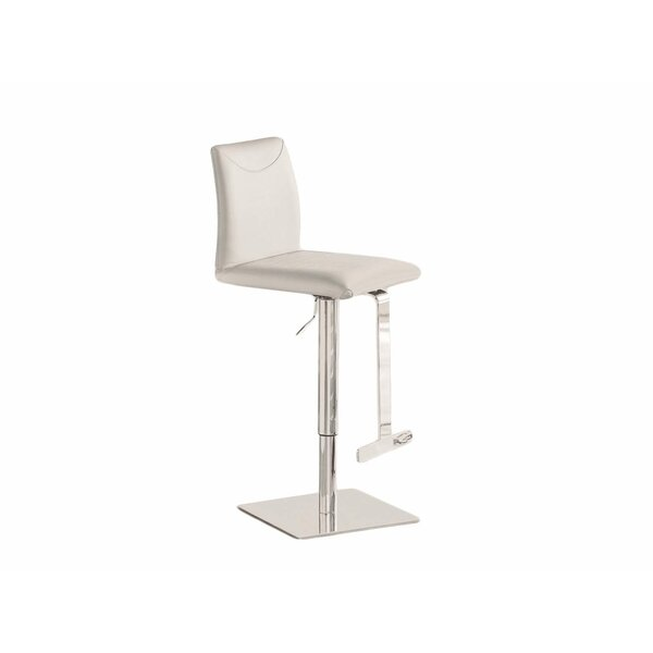 Tito Adjustable Height Swivel Bar Stool by Casabianca Furniture