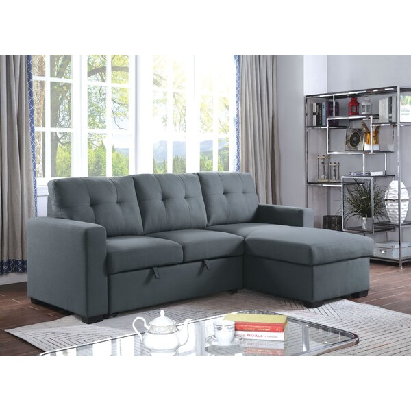 Review Franz Reversible Sleeper Sectional