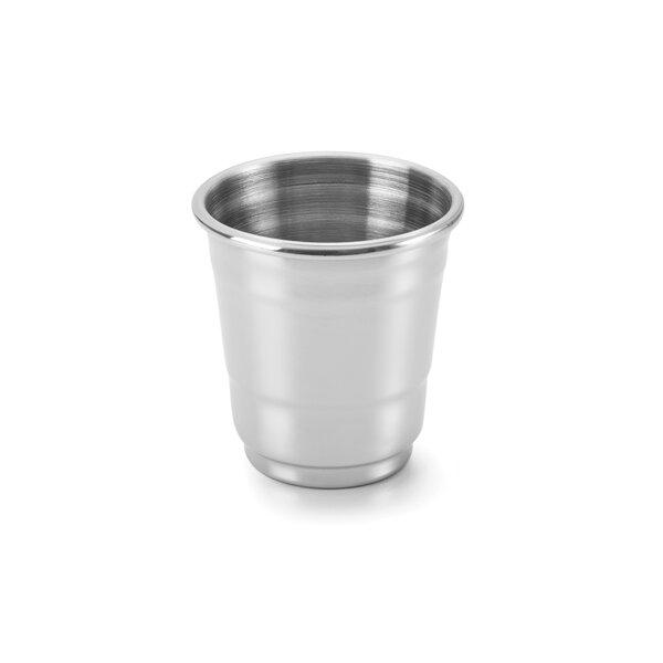 1 oz. Stainless Steel Shot Glass (Set of 4) by Outset