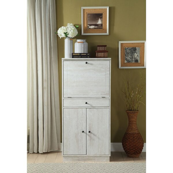 Tewkesbury 1 - Drawer Nightstand in Gray by Rosecliff Heights Rosecliff Heights