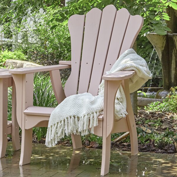 Annaliese Wood Adirondack Chair by Uwharrie Chair