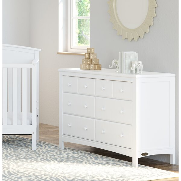 Benton 6 Drawer Double Dresser by Graco