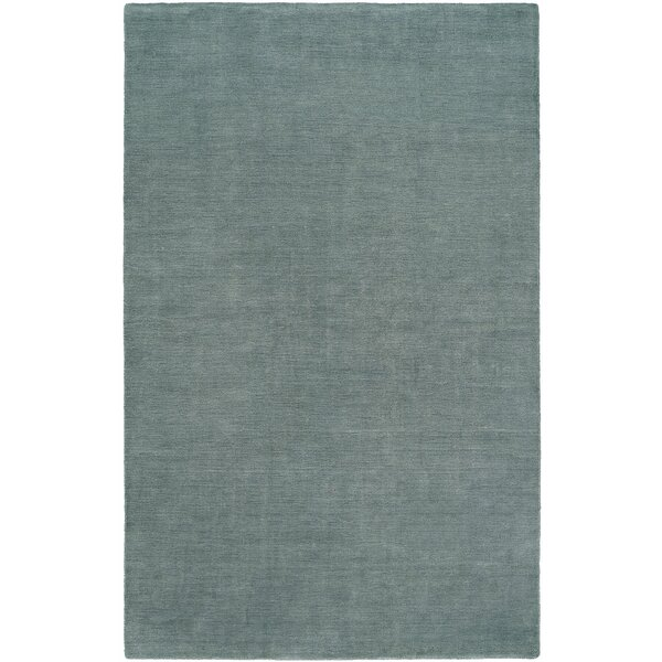 Batta Hand-Woven Blue Area Rug by Meridian Rugmakers