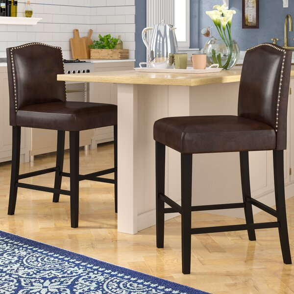 Knollwood 26 Bar Stool (Set of 2) by Darby Home Co