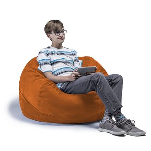 Orange Bean Bag Chairs Youu0027ll Love | Wayfair