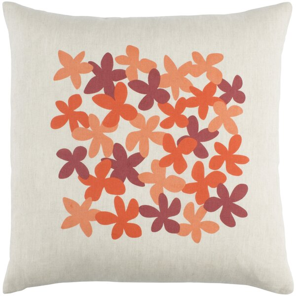 Flying Colors Little Flower Throw Pillow by emma at home by Emma Gardner
