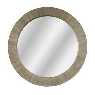 Gracie Oaks Hayter Round Accent Mirror