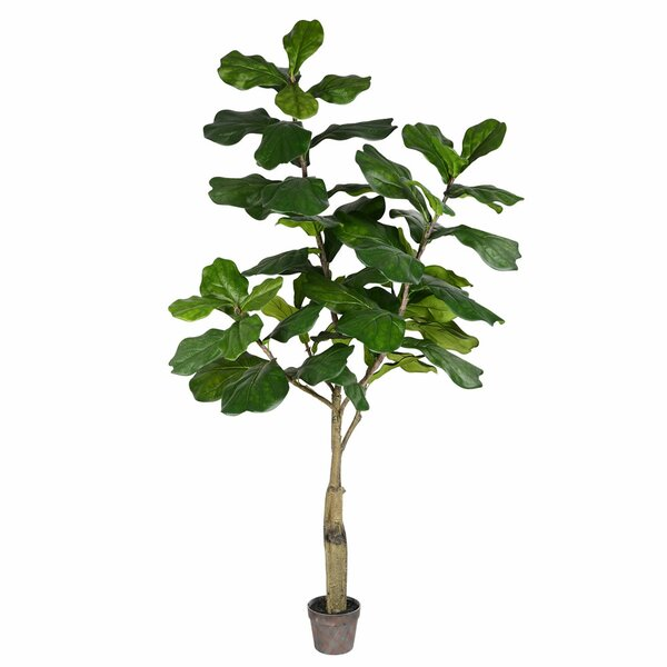 Artificial Potted Fiddle Tree in Pot by Bay Isle Home