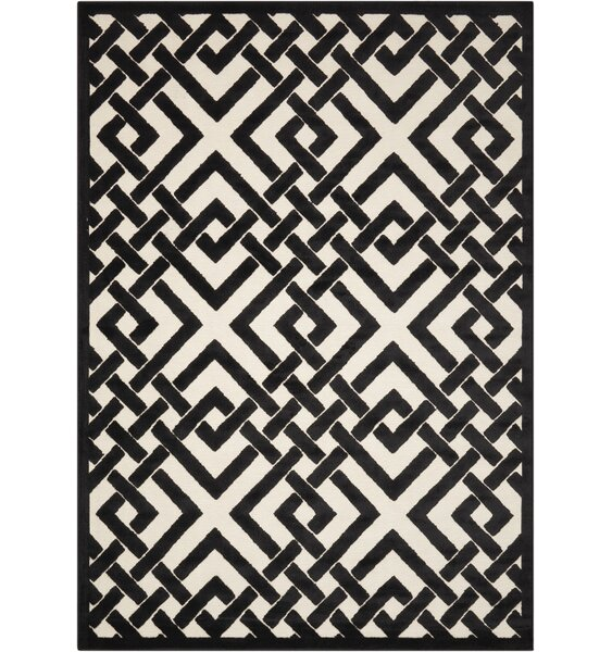 Beaconsfield Black/Ivory Area Rug by Mercer41