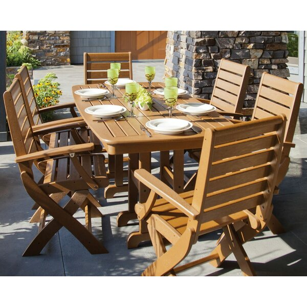Signature 7 Piece Dining Set by POLYWOOD®