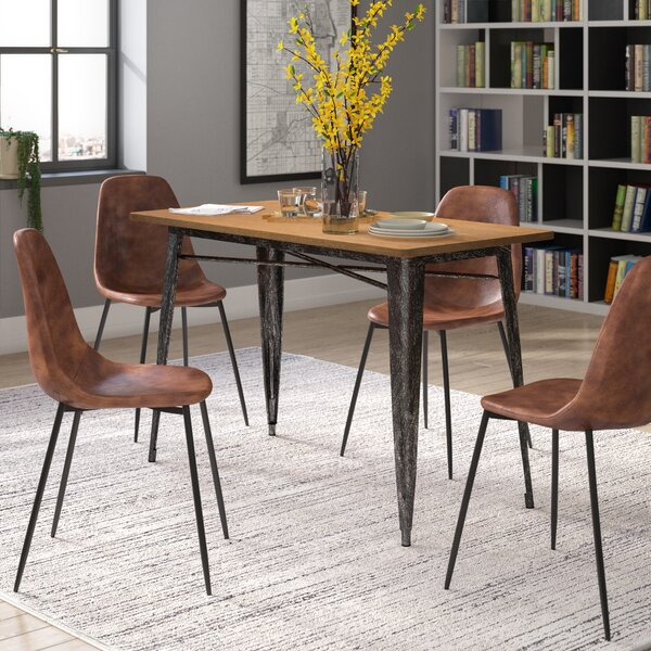 Barber Metal Dining Table by Williston Forge