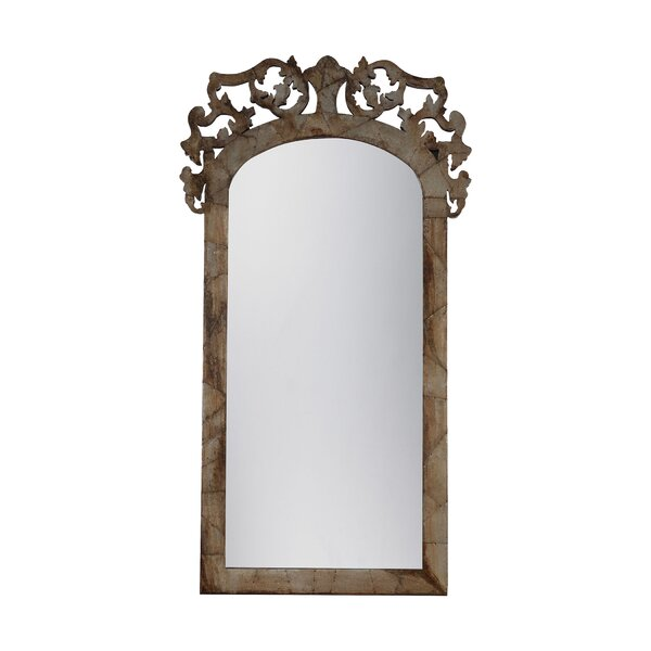 Britta Architectural Floor Aceent Wall Mirror by Astoria Grand