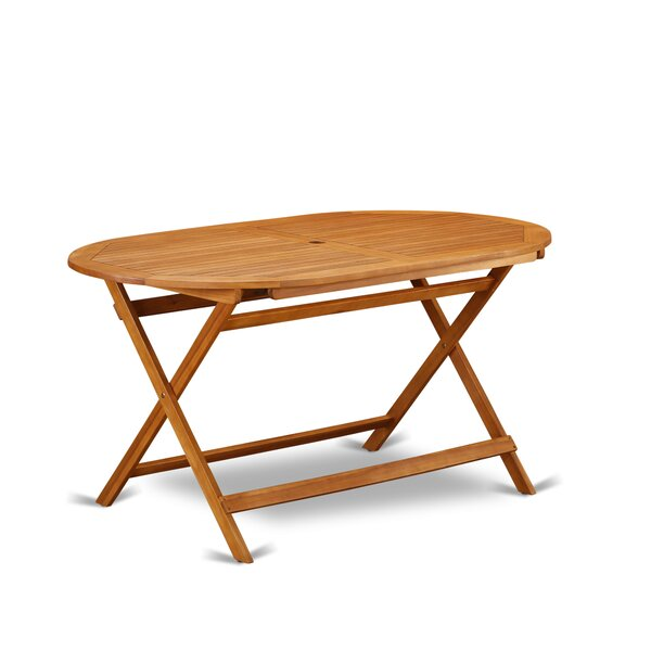Mcneel Solid Wood Dining Table by Millwood Pines