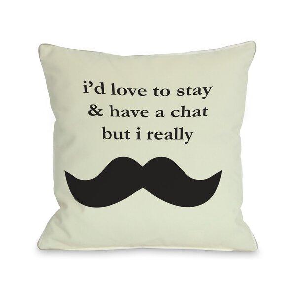 Must Dash Throw Pillow by One Bella Casa