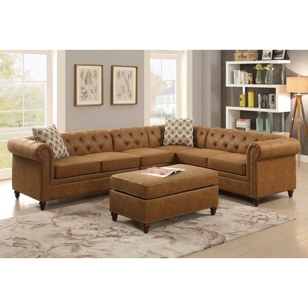Cherwell Sectional Ottoman by Darby Home Co