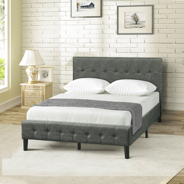 Chocheles Upholstered Platform Bed by Red Barrel Studio