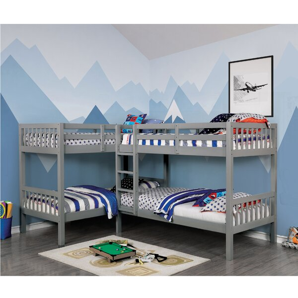 Willi Quadruple Twin Bunk Bed by Mack & Milo