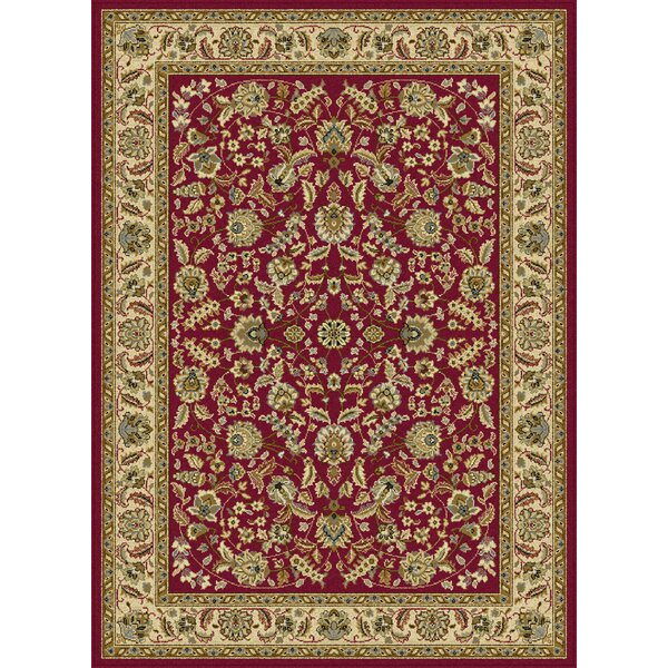 Larios 3 Piece Red Area Rug Set by Astoria Grand