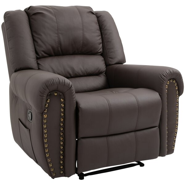 Kusilvak Genuine Leather Manual Recliner W002606131