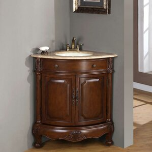 Hannah 32  Single Sink Cabinet Bathroom Vanity Set32 Inch Bath Vanity   Wayfair. 32 Inch Bathroom Vanity. Home Design Ideas
