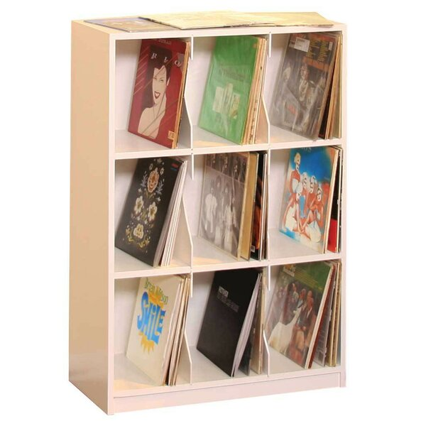 LP Record Multimedia Tabletop Storage by Gothic Furniture