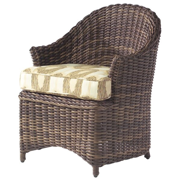 Sonoma Patio Dining Chair with Cushion by Woodard
