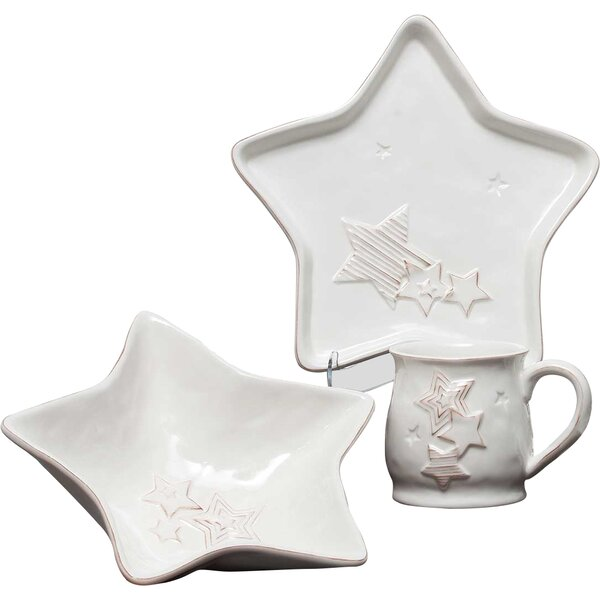 Star 3 Piece Place Setting, Service for 1 by ZiaBella
