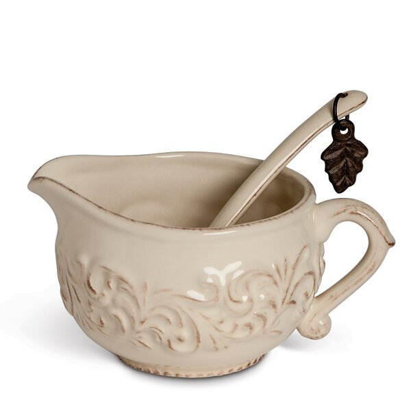 Gravy Boat with Ladle by The GG Collection