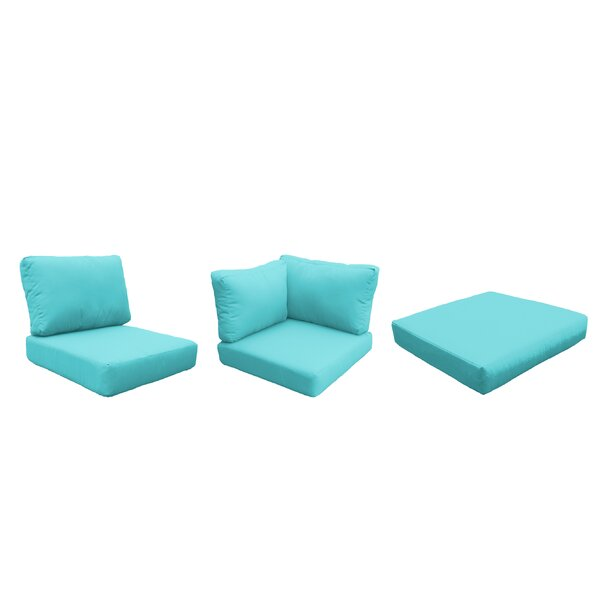 Capecod 18 Piece Outdoor Lounge Chair Cushion Set by TK Classics TK Classics