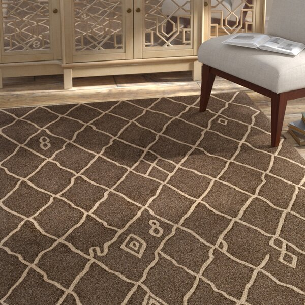Juergens Hand-Tufted Nutmeg Area Rug by Bloomsbury Market