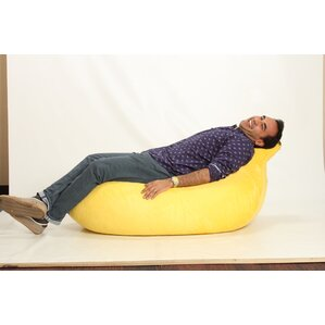 Banana Bean Bag Lounger by Wow Works LLC